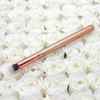 Rosegold Concealer Buffer pinsel Anwendung und mischung Concealer und Corrector Augen kosmetische werkzeuge