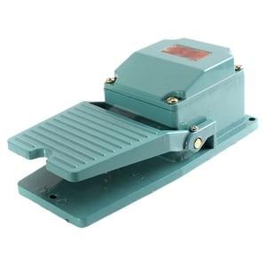Металлический мгновенный контакт противоскользящая педаль промышленный ножной переключатель AC 250V 15A