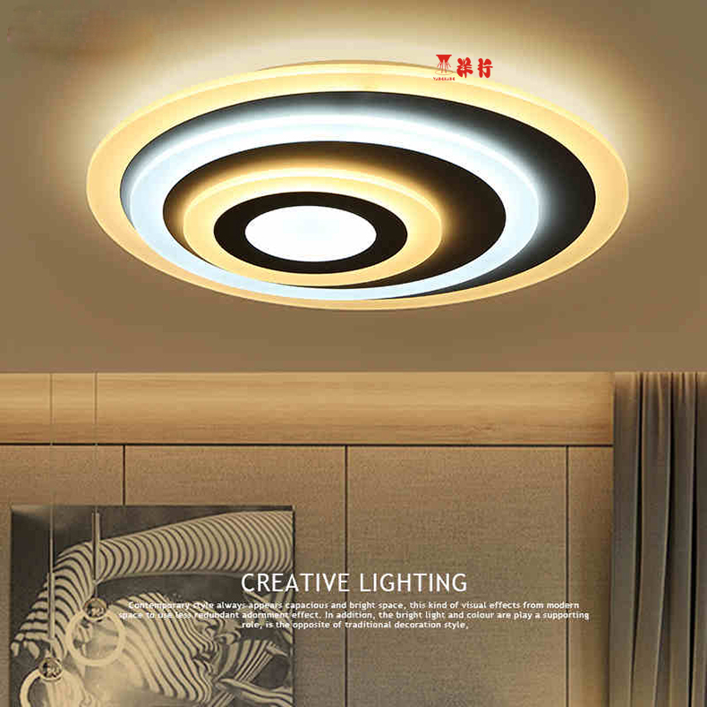 Ideal Modern Led Ceiling Lights For Living Room Study Room Bedroom Home AC85-265V lamparas de techo Modern Led Ceiling Lamp laser level automatic zubr 34902