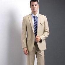 Men's suits The new men's wedding suits slim fit Business casual  suits fashion groomsman party feast dress suits(jacket+pants)