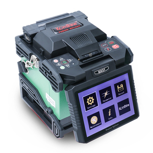 Image 2 - Komshine newest GX37 optic fiber fusion splicer  with one pair electrodes and KF 52 high precision optic fiber cleaver
