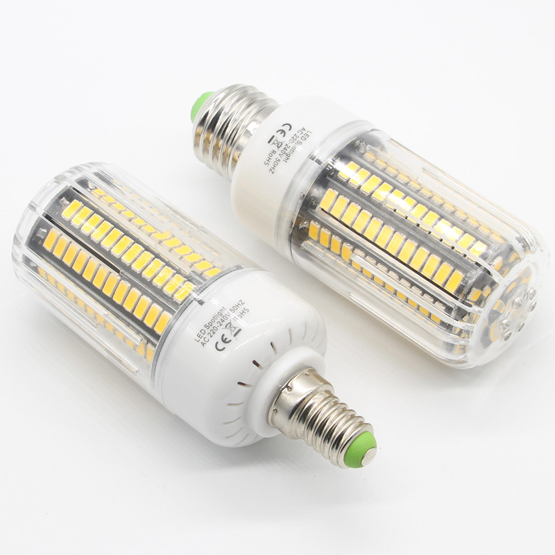 Hot 5733 Chip Aluminum PCB Lampada LED E27 220V Corn Light 3W 4W 5W 7W 8W 10W Spot LED Lamp E14     -> Lampada Spot Led