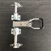 Free shipping Truck Door Lock with Lock Box Key 22 Tube Truck Door Lock Mortise lock