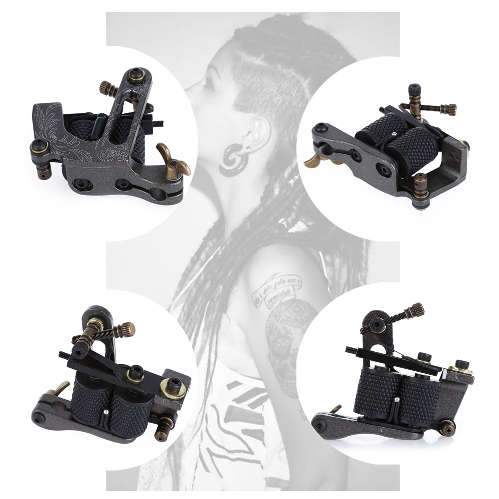 Neue Ankunft Spule Tattoo Maschine 8 Wrap Spulen Tattoo Pistole ...