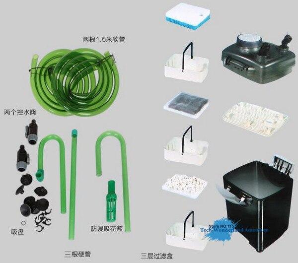 Bio-Chemical Aquarium Filter - JEBO 835 AP 835 2