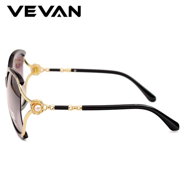 Gafas de sol polarizadas sobredimensionadas para mujer