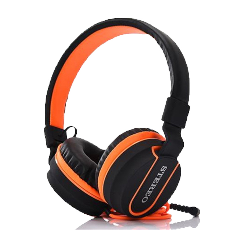 New 6 Color Adjustable Stereo Headphones Gaming Headset Bass with Microphone Matte Finish for Mobile Phone Computer PC Gamer Mp3