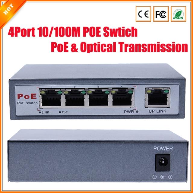 Aliexpress Com Buy Cctv 4 Port 10 100m Poe Net Switch