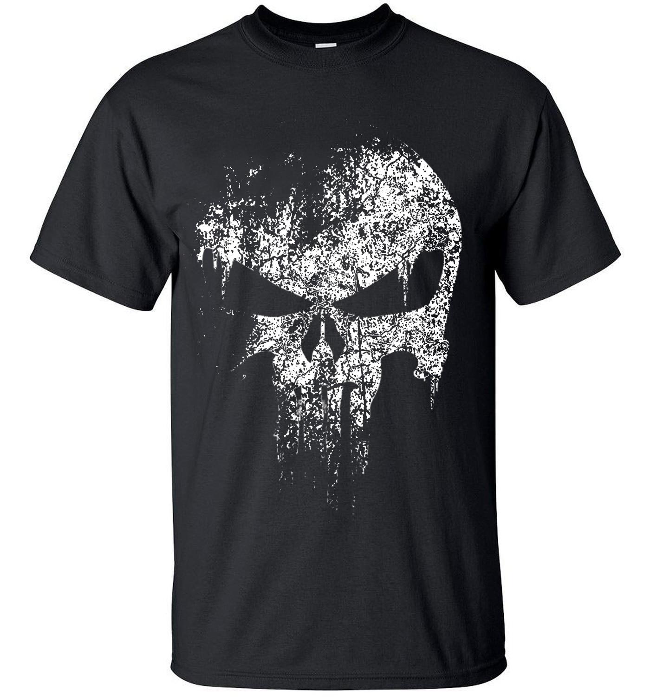 2020 ストリートパニッシャー頭蓋骨のヒップホップ夕食ヒーロー tシャツメンズ Tシャツトップス tシャツトップブランドスリム服 mma pp クロスフィット