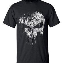2020 streetwear Punisher Skull hip hop Supper Hero t shirts