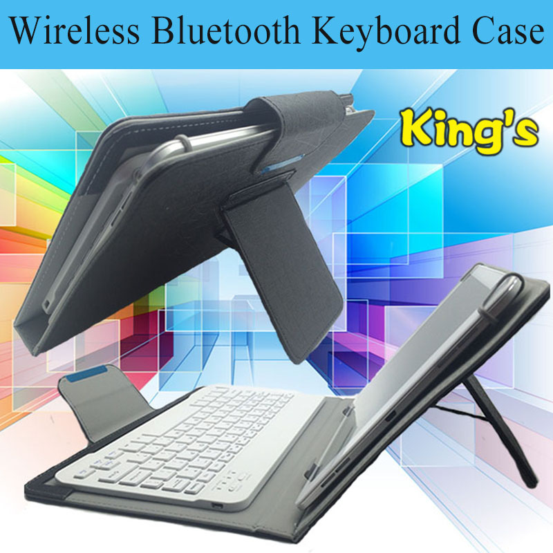 Newest Bluetooth Keyboard Case For Huawei MediaPad M2 10.0 M2-A01W,M2-A01L 10.1 Inch Tablet PC Free 4 gifts image