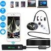 2M HD 1200P Wireless WiFi Endoscope Camera Mini Waterproof Semi Rigid Inspection 8mm Lens 8 LED