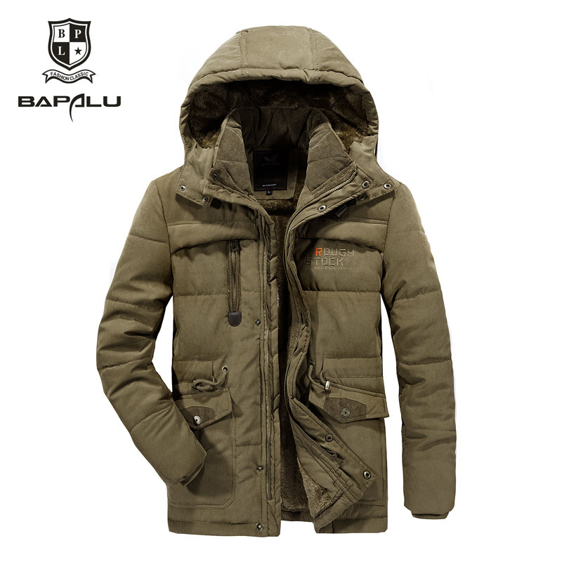 size L 4XL 5XL 6XL7XL 8XL winter jacket middle aged men's Plus velvet warm jacket jacket men's casual hooded jacket Coat 868