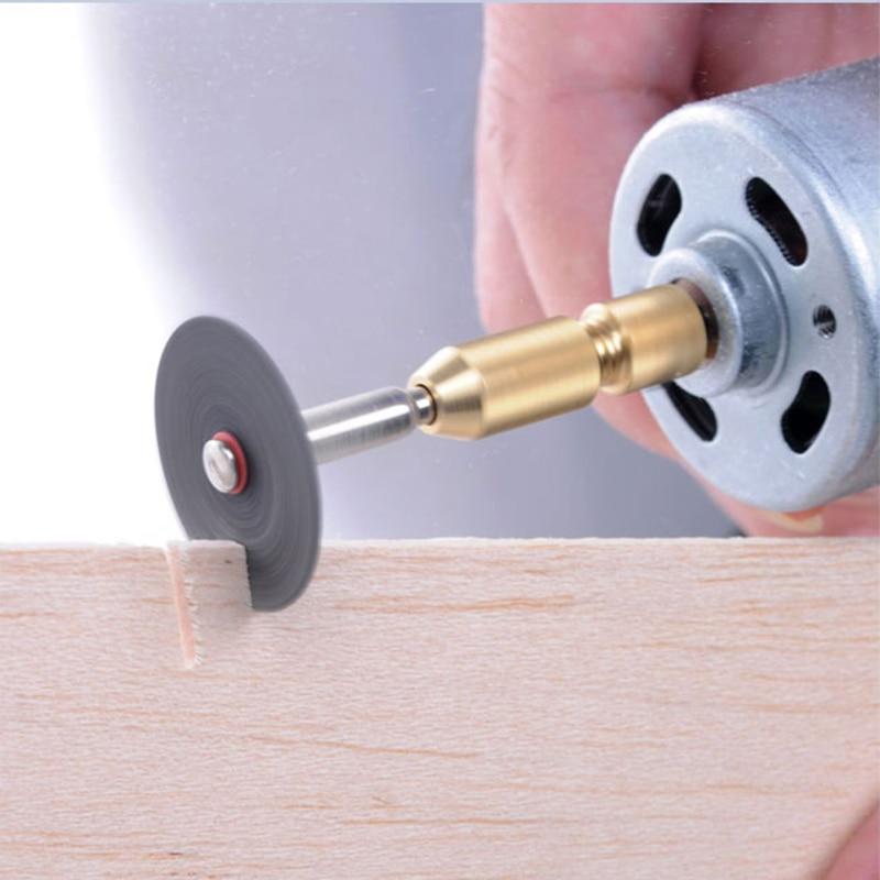 mini mandrino trapano senza chiave adattatore micro trapano pinze - Punta da trapano - Fotografia 6