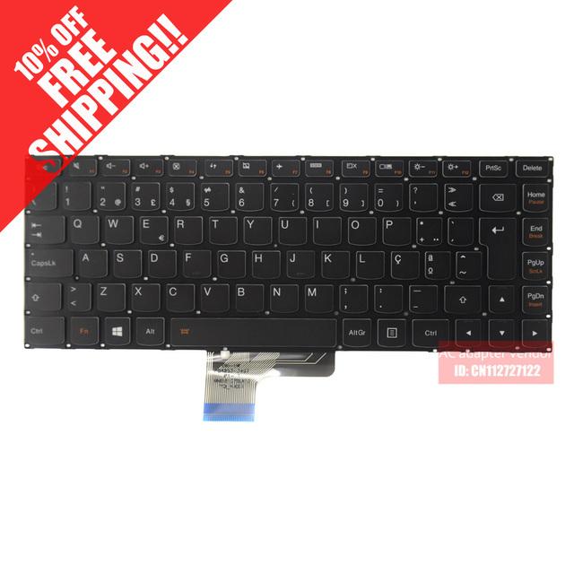 Original para lenovo u430 u430p u330 u330p u330t po teclado del ordenador portátil con retroiluminación