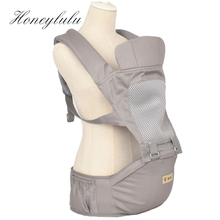 Honeylulu 2 in 1 Baby Carrier Mesh Breathable Hipseat Sling For Newborns Kangaroo Ergoryukzak Backpack Hipsit