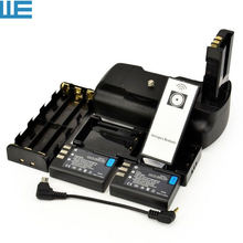MB-D5000 D5000 Battery Grip + IR Remote Control + 2x EN-EL9 ENEL9 Batteries for Nikon D5000 D3000 D40 D40X D60 Cameras.(China)