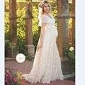2017 frauen Weißen Rock Mutterschaft Fotografie Requisiten Spitze Schwangerschaft Kleidung Mutterschaft Kleider Für schwangere Foto Schießen Kleidung