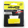 Super OBD2 Chip Tuning Box NitroOBD2 For Benzine Car Chip Tuning Box Plug and Drive Nitro OBD2 Fuel Economiser Free Shipping