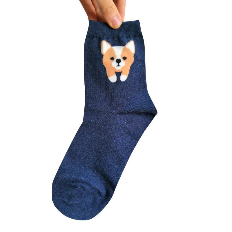 Women Corgi Socks Gift For Corgi Dog Lover 50/100pairs Save 50-70% Socks