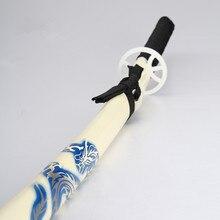 Japanese samurai katana anime bleach sword Carbon steel cosplay dragon pattern blade vintage home decor swords