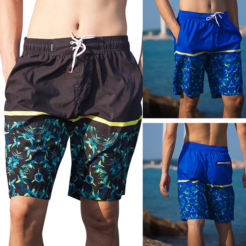 2019 New Plus Size Men Beach   Board     Shorts   Summer Male Swimwear Swim Trunks Home Casual Running Sports Surffing   Shorts   Homme 6XL