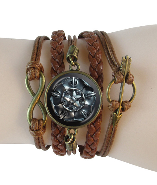 Game of Thrones Leather Infinity Bracelet