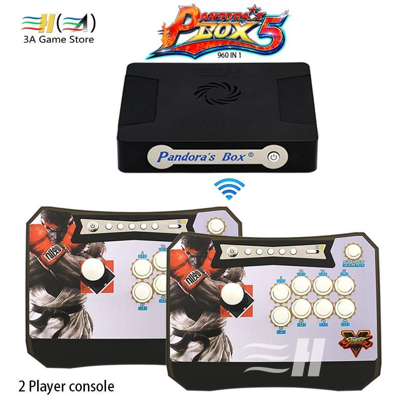 Pandora's Box 4S Wilress Arcade Stick to PC PS3 XBOX360 Game Pandora Box 4S Arcade Joystick Fight Game Panel Arcade Controller