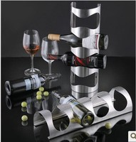 Stainless Steel Red Wine Holder On Wall