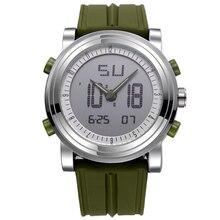 SINOBI Deportes hombres del Cronógrafo Relojes de Pulsera de Cuarzo Digital y Chicos Correa Superior de Lujo de Marca Hombre Reloj de Buceo Militar 2016