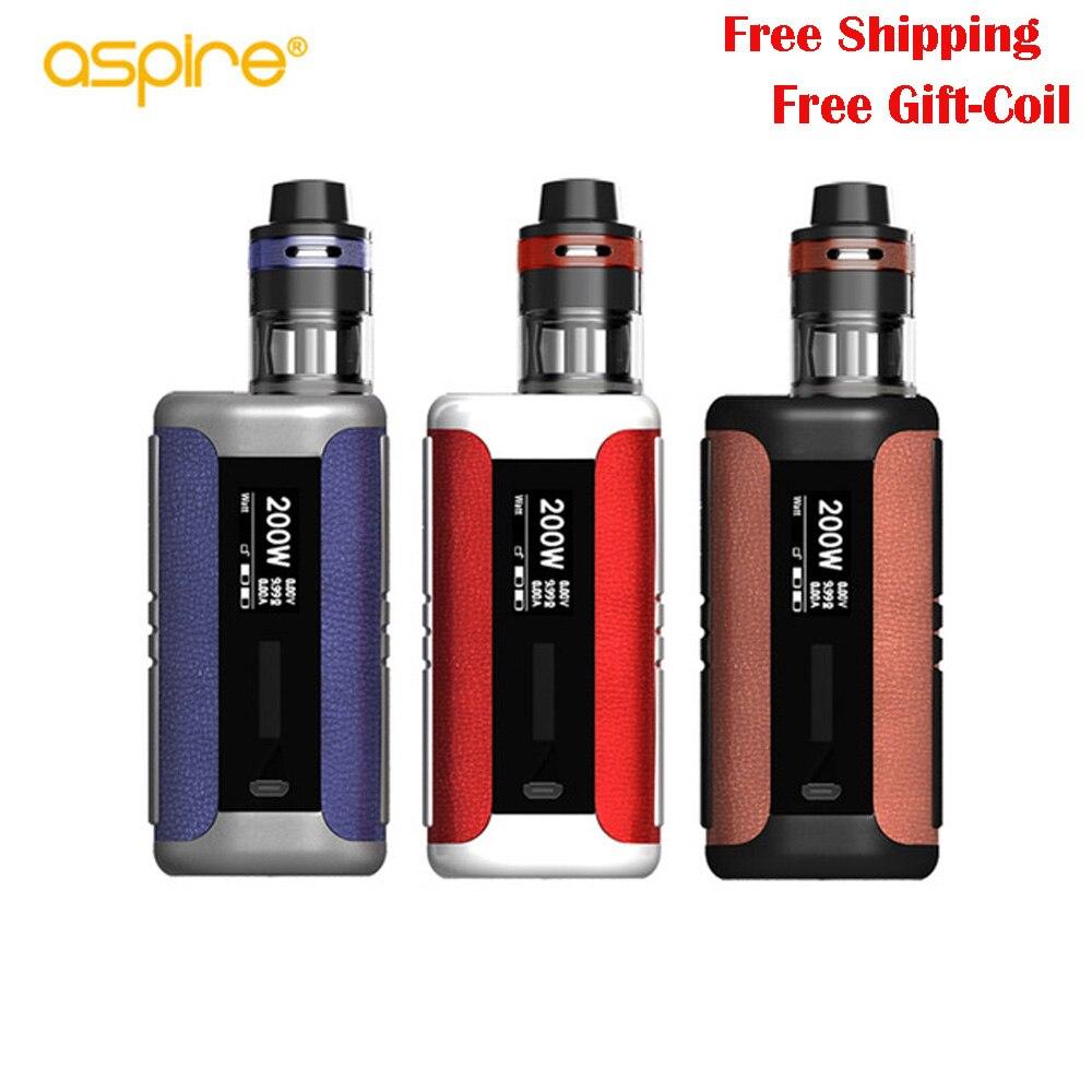 Original Aspire Speeder Revvo Kit vape 200W Speeder Mod 3.6ml/2.0ml Revvo Tank VS aspire speeder electronic cigarette цена