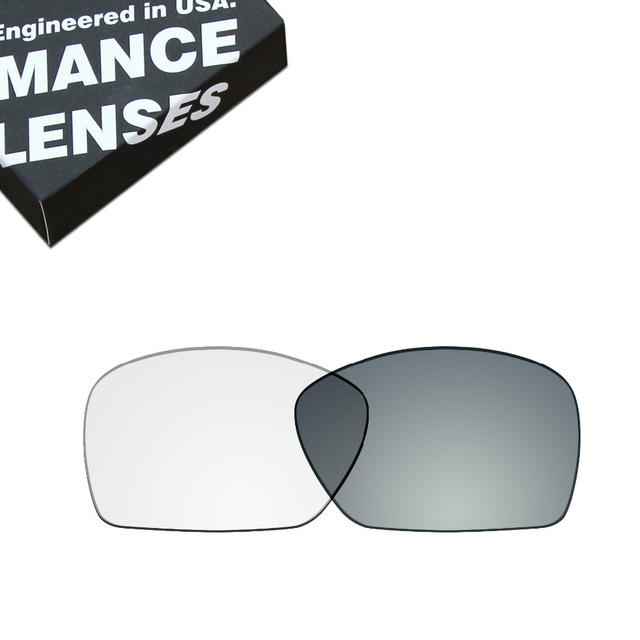 afc3a4996b ToughAsNails Replacement Lenses for Oakley Plaintiff Squared Sunglasses  Photochromic Clear (Lens Only)