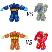 Remote Control Robot Toys , Two Person Combat Robot Set, Smart Intelligence Robot Education Toy For Kids Upgraded Version