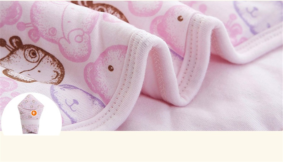 Baby Wrapped Blanket Warm Care (21)