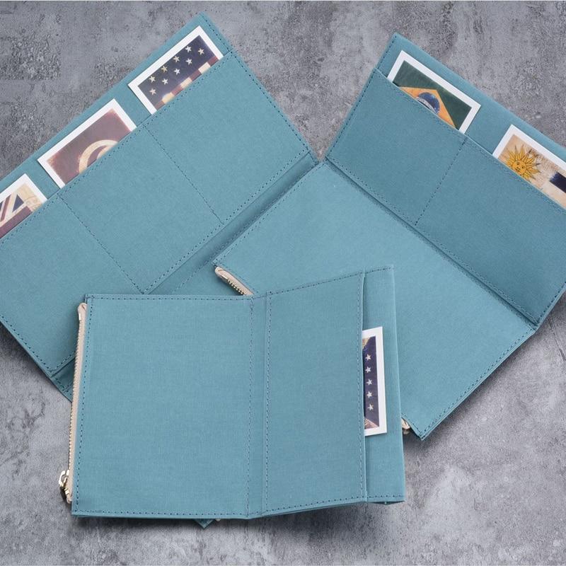 Fromthenon Travelers Notebook zipper Pocket Card Holder Storage Bag For Midori Passport Standard size Diary Vintage Stationery midori