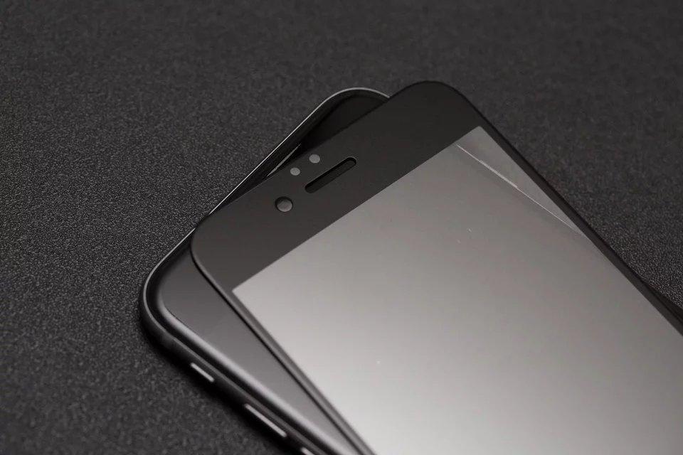 9H 2.5D matowy matowy pełna pokrywa szkło hartowane Screen Protector dla iPhone X XS MAX XR 10 8 7 6s 6 Plus 7Plus anty odciski palców 28