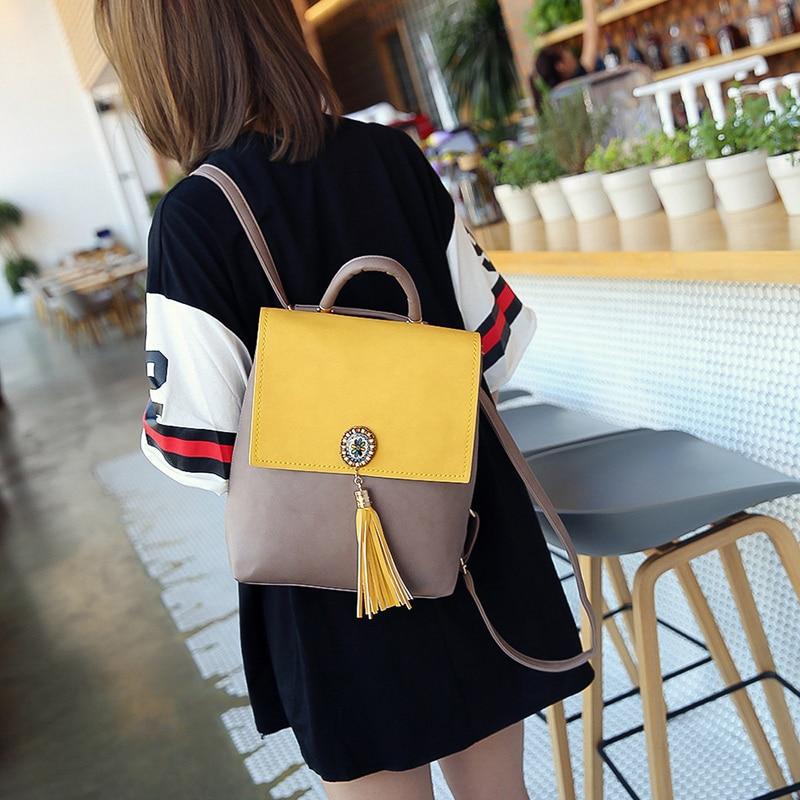 Tassel Women Small Backpack PU Leather HTB1tynxSpXXXXXLapXXq6xXFXXX1