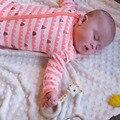 Bebê recém-nascido Roupas de Menina Menina Infantil Meninos Roupas de Outono Impressão Zipper Crianças One Pieces Macacões Trajes Bebê Bebes Pijamas