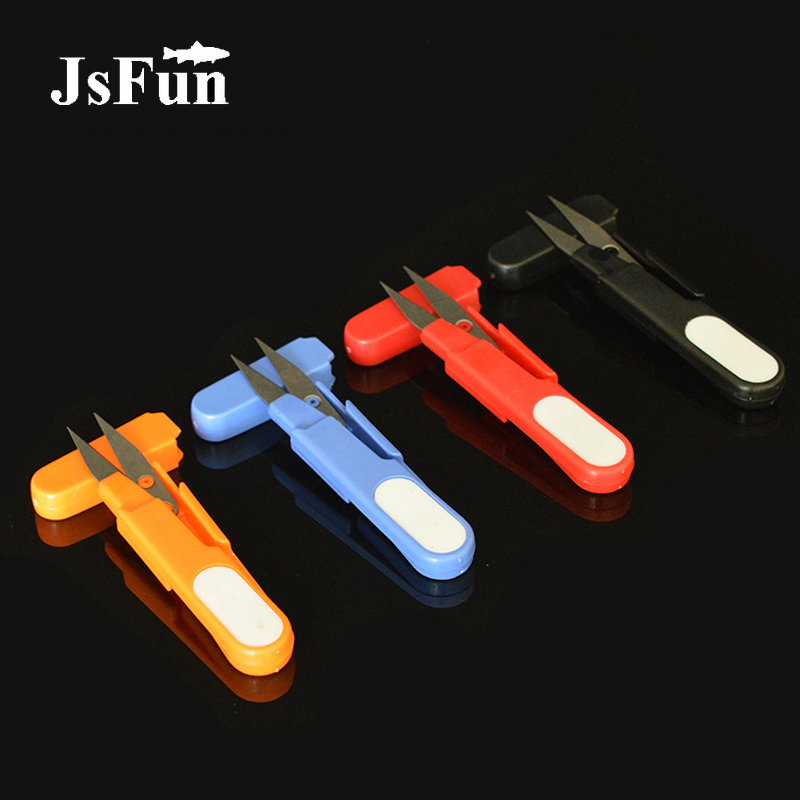 1PCS Fishing Tool Stainless Fishing Scissors With Covers Portable Fishing Line Scissor Essential Fishing Accessories FO309