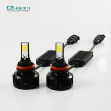 H11 H9 H8  LED Car Headlight 72W 6600LM H8/H9 for auto headlamp DRL DAYTIME Car DRIVING FOG HEADLIGHT