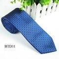 Chegada nova Mens laço de seda de bolinhas laço clássico para o homem de negócios Casual malha homens gravatas