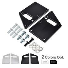 Car LS1 Conversion LS Swap Motor Mount Adapter Plates Kit For Chevrolet Camaro Chevelle Impala Chevy 97-13 LSX Engine AL-12
