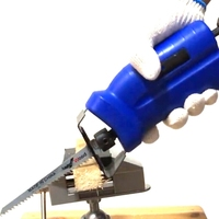 1 pcs New Power Tool Accessories Reciprocating Saw Metal Cutting Wood Cutting Tool Electric Drill Attachment with 3 Blades