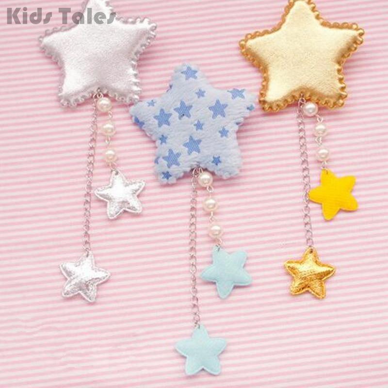 Lolita Girl Star Hair Clip Hairpins Accessories Headbands Long Tassel Fashion Jewelry Cosplay Gift 1pc KYY8228