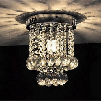 Crystal Lamparas De Techo Ceiling Lights Home Lighting Fixtures LED Ceiling Lamps For Living Room Bedroom Avize Plafonnier