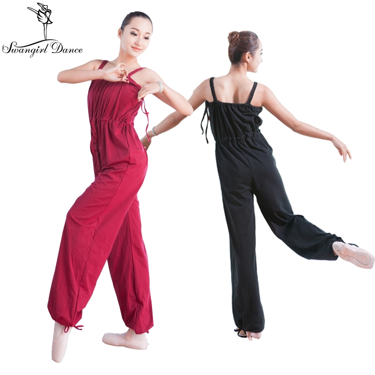 bae387500685 Adult Ballet Dance Leotards For Women Black Gymnastics Leotard Unitard  Girls Ballet jumpsuit Clothes BodysuitCS0041