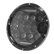 "Ironwalls 7"" H4 Sealed Beam Motorcycle Headlight For Cree Chips 75W Led Driving <font><b>Light</b></font> Hi-Lo Beam For Harley Davidson Trike"