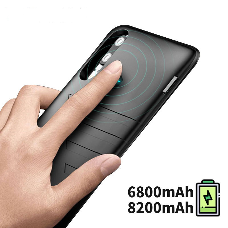 6800 mAh For <font><b>Huawei</b></font> <font><b>P20</b></font> <font><b>Battery</b></font> Charger <font><b>Case</b></font> External Smart Phone Cover Power Bank 8200 mAh For <font><b>Huawei</b></font> <font><b>P20</b></font> Pro <font><b>Battery</b></font> Capa <font><b>Case</b></font> image
