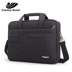 Marca à prova dwaterproof água das mulheres dos homens 14 15.6 polegada portátil maleta bolsa de negócios para homens grande capacidade mensageiro bolsa de ombro