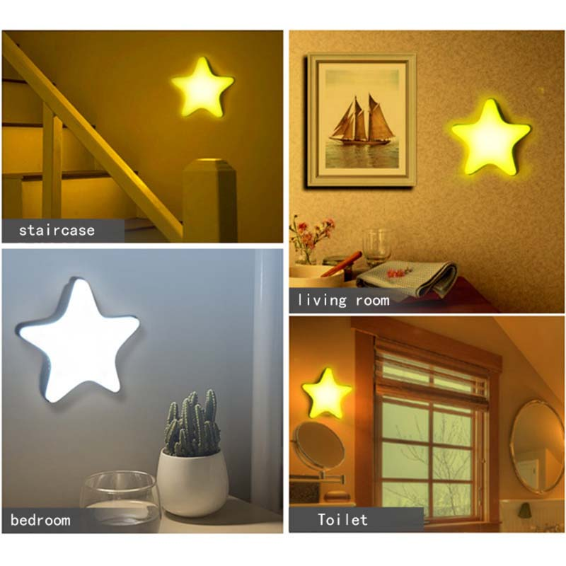 Smart home remote control star night light Adjustable Brightness LED Nightlight energy atmosphere gift